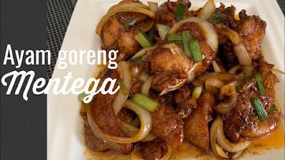 resep membuat ayam mentega yang enak dan gurih
