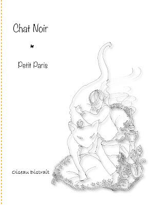 New release Chat Noir of Petit Paris séries