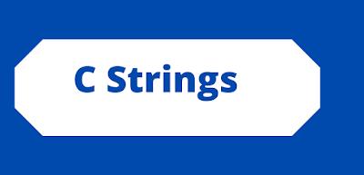 C Programming Strings