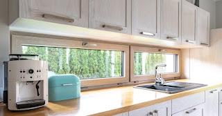 Okna w kuchni