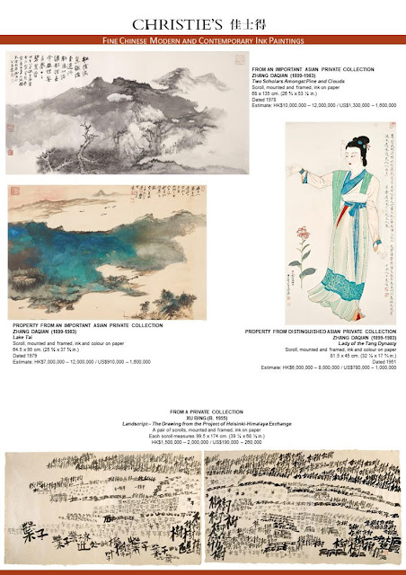 Christie's Hong Kong Chinese Paintings Department