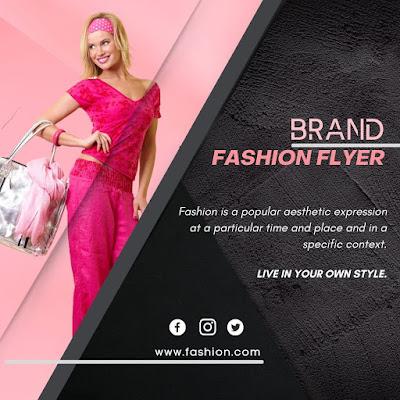 Tutorial 8 - Design Fashion Brand Flyer in Canva