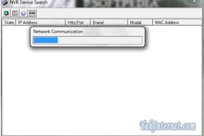 instalasi camera cctv nvr device search