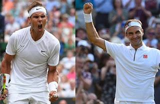 Roger Federer v Rafael Nadal facts, records, Stats ahead of Wimbledon Semi Final 2019.