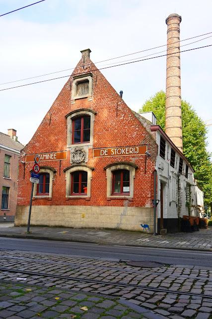 Le Chameau Bleu  - Le restaurant de Stockerij à Gand Belgique Gent