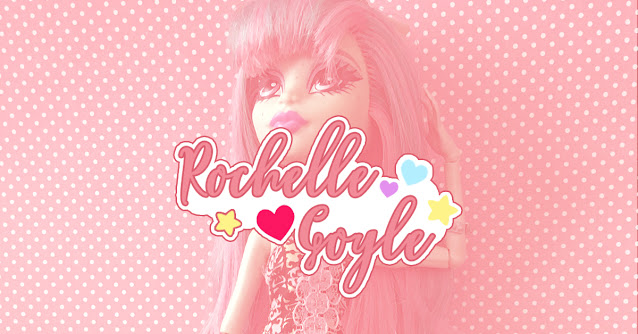 Restauração de boneca Monster High Rochelle Goyle