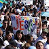 Iglesia católica realiza multitudinaria marcha en favor de la familia