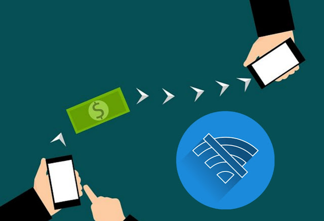 money transfer without internet