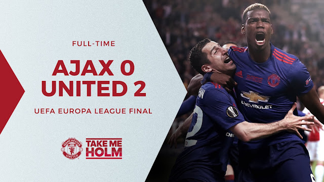 Manchester United Juara Europa League untuk kali pertama