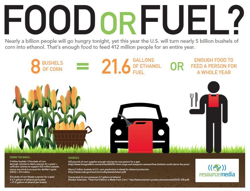 biocombustibles vs alimentos