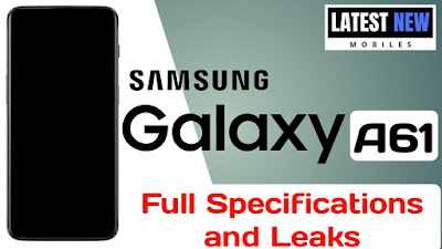 Samsung Galaxy A61 full Specifications,