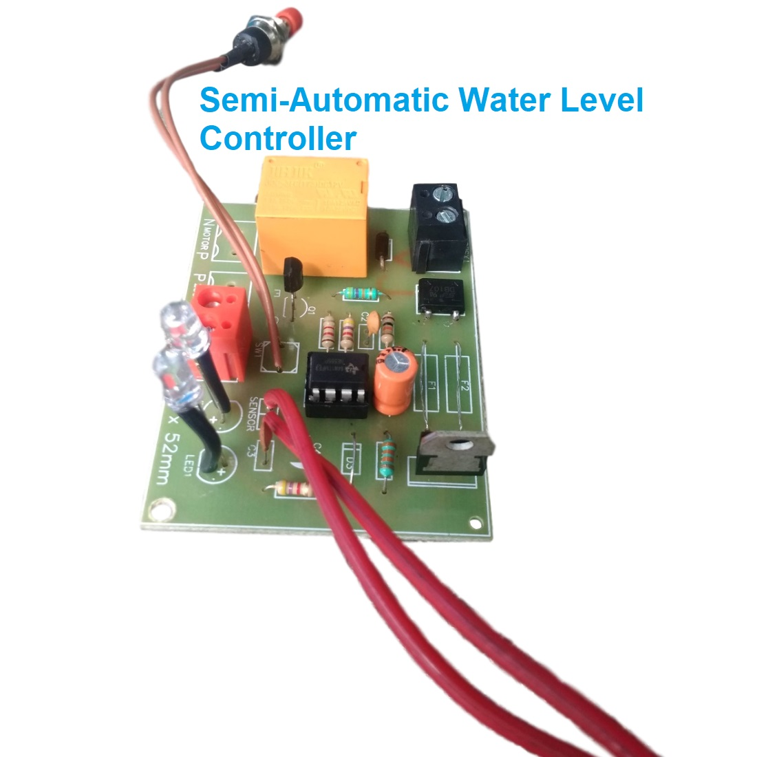 Semi-Automatic Water Level Controller Circuit Project ...