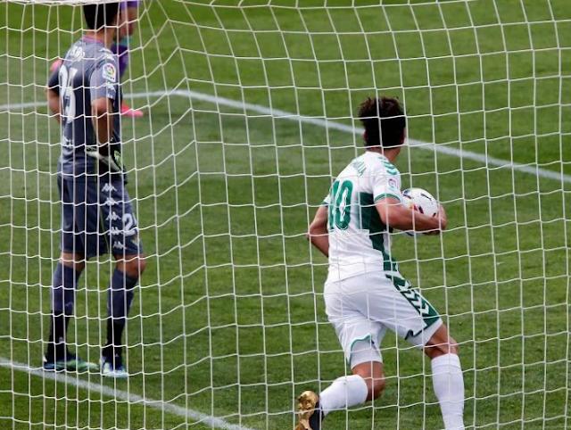 Pere Milla responde al tanto inicial de Borja Iglesias (1-1)