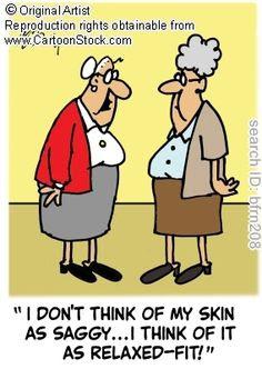 Wrinkley old people