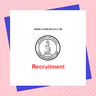 University of Calicut Recruitment 2020 for Technical Assistant