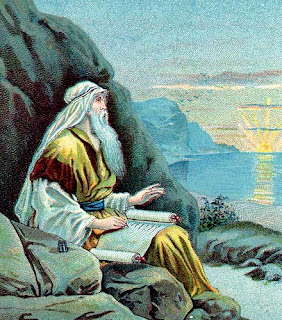 John on the isle of Patmos