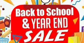Back to School & Year End Sale 2016 2017