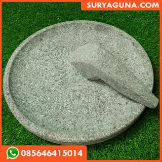 Cobek Batu Asli