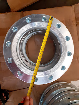 Backing ring Dn 200 mm Pn 16 Galvanis
