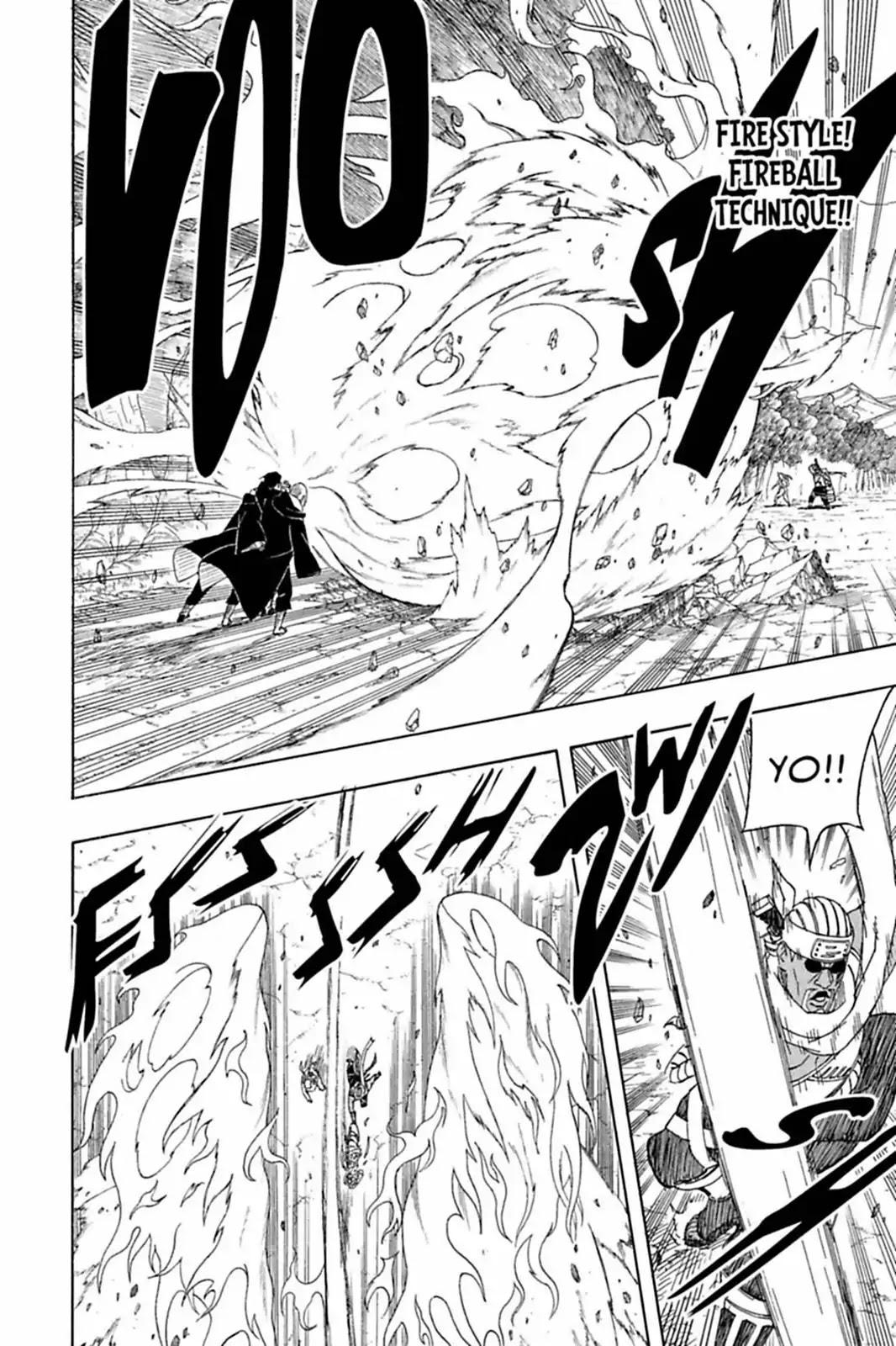 Itachi vs Killer Bee: Destrinchando a luta! 004