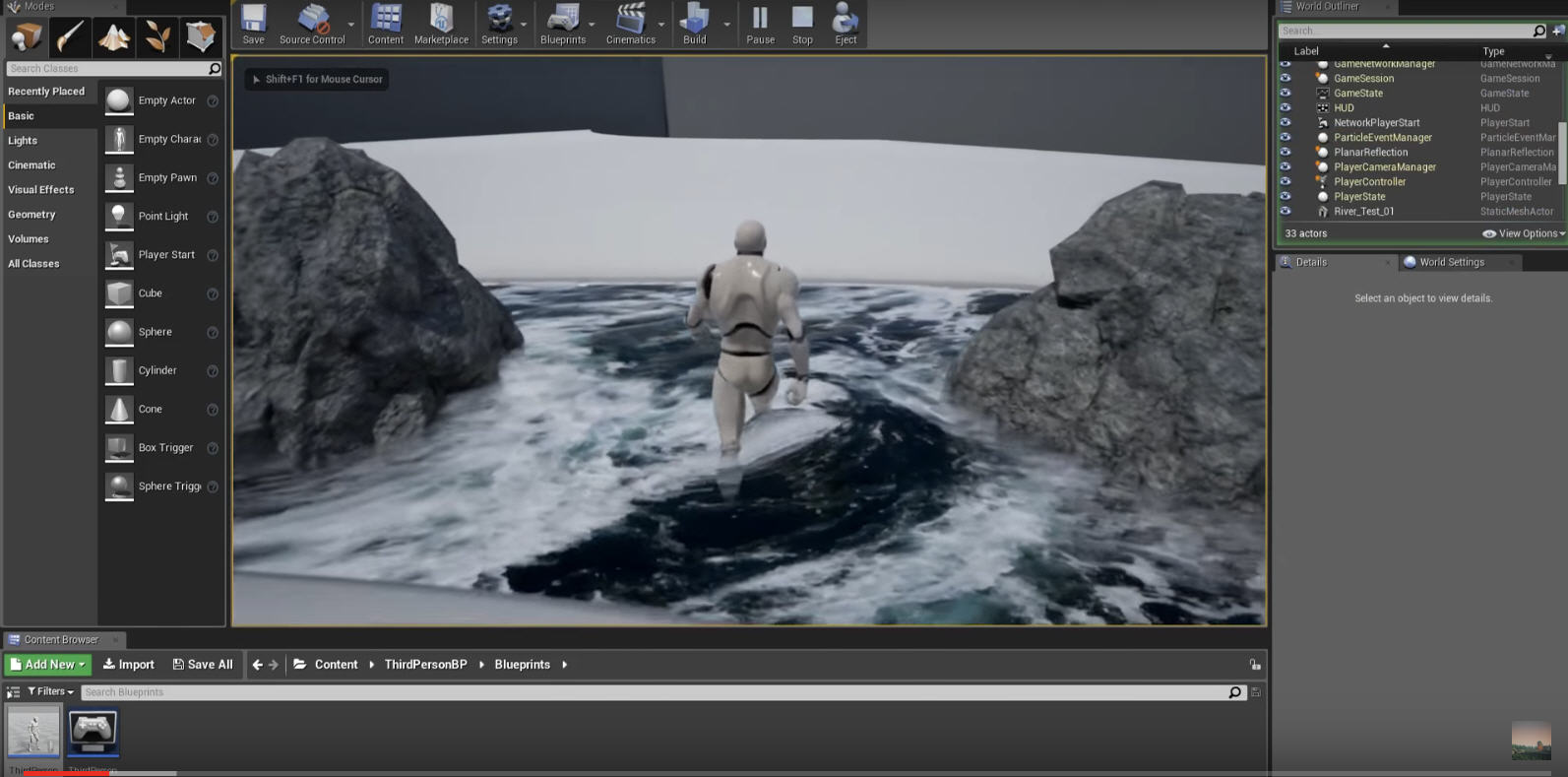 Unreal Engine Tutorial: How to Make Dynamic Flowing Water