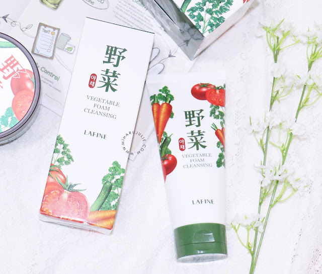 lAFINE Vegetable Foam Cleansing