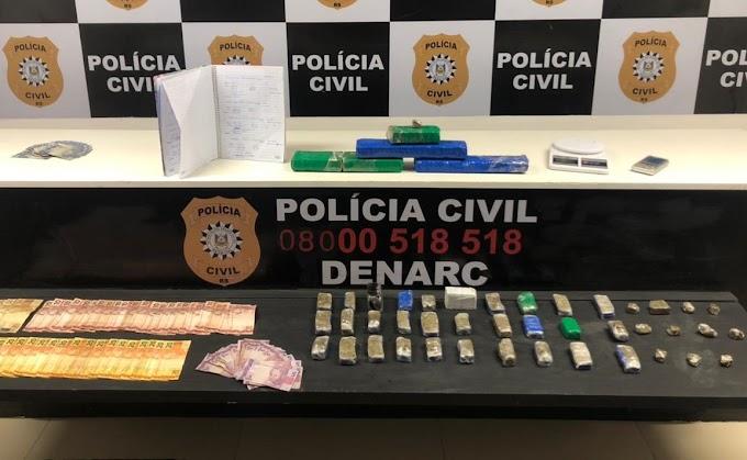 Denarc realiza prisão por tráfico de drogas em Gravataí