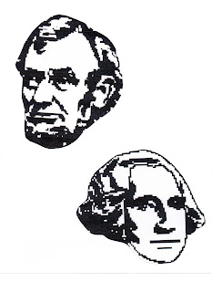 Tippytoe Crafts: Mount Rushmore Heads