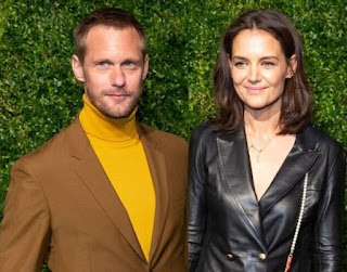 Alexander Skarsgard picture collection with his ex-girlfriend Katie Holmes