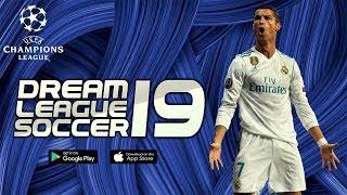 Download Dream League Soccer 19 UCL Edition, APK, OBB, Data for Android