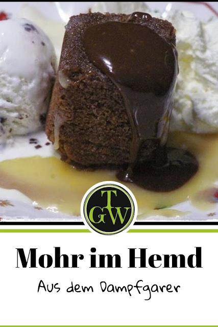 Mohr im Hemd für den Dampfgarer - Gartenblog Topfgartenwelt #mohrimhemd #rezept #dampfgarer #tupperdampfwunder #dampfbackofen #österreich #wienerküche