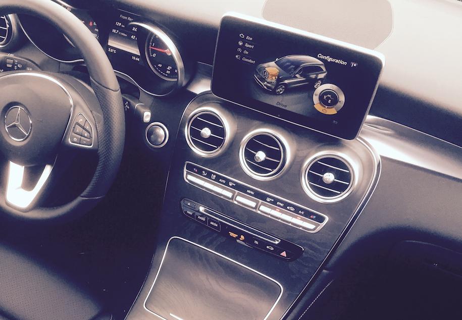 2016 mercedes benz glc300 interior dash
