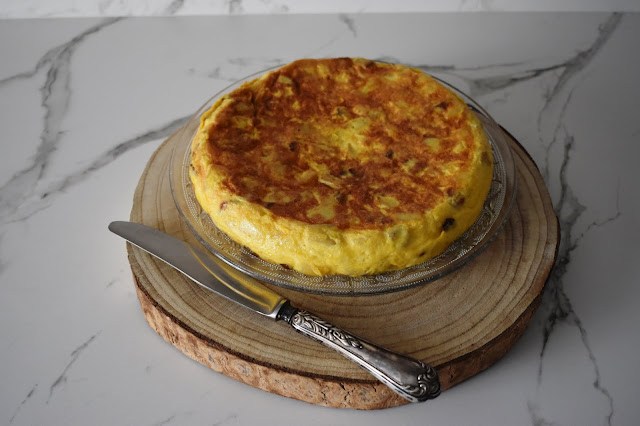 Tortilla de Patatas y Boletus Edulis
