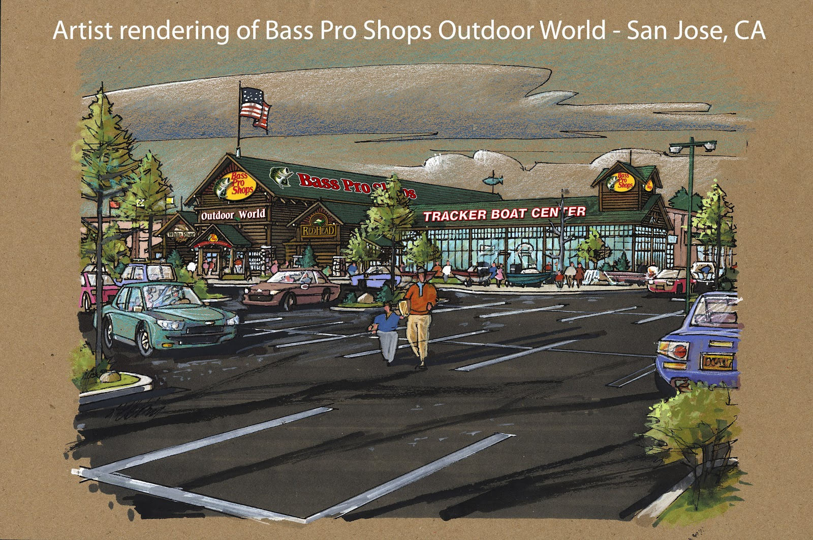Hayden's Business Blog: Bass Pro Shops Outdoor World and other tenants coming to new Almaden ...