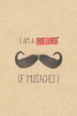 mustaches lover funny iphone wallpapers 3 4 5 5s 5c 6