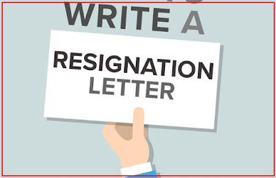 contoh cara membuat surat resign kerja