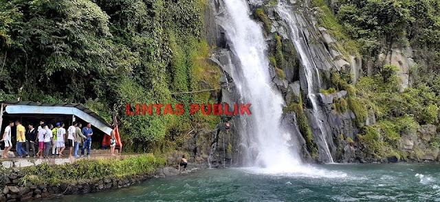 Air Terjun Situmurun yang Langsung Jatuh ke Danau Toba, Lihat Videonya