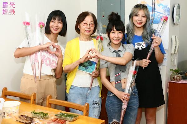 由左至右-徐芷奇(敲敲)、奶奶、陸子玄、王郁熙(C Bo)