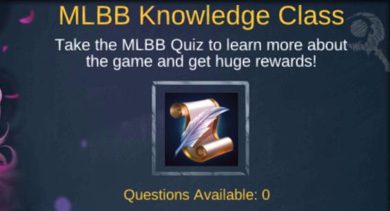 Untuk event terbaru dari MLBB Quiz ini kita sudah coba dan beberapa pertanyaan sudah di j Jawaban MLBB Quiz Terbaru Oktober 2019 Mobile Legends Knowledge Class