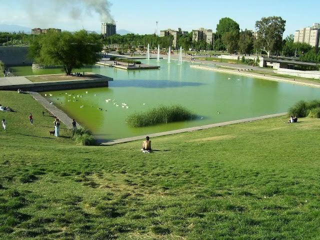 Parque Central de Mendoza, Argentina