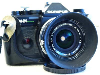 Olympus OM-2S, Zuiko OM 21mm F3.5