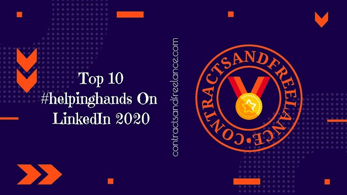 #helpinghands: We rise by lifting others | Top 10 helpinghands On LinkedIn | 2020