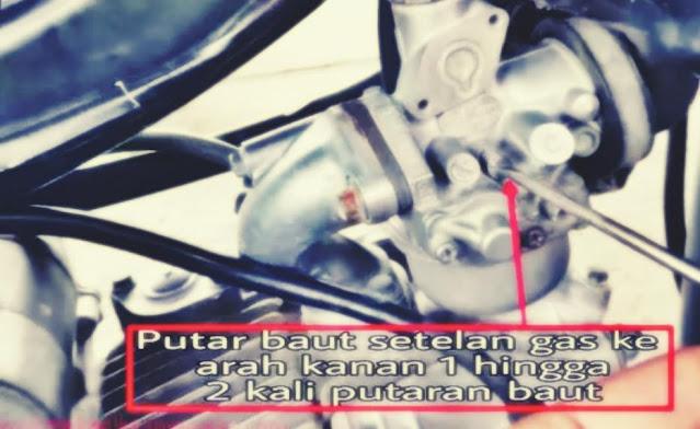 setting karburator motor agar kenceng
