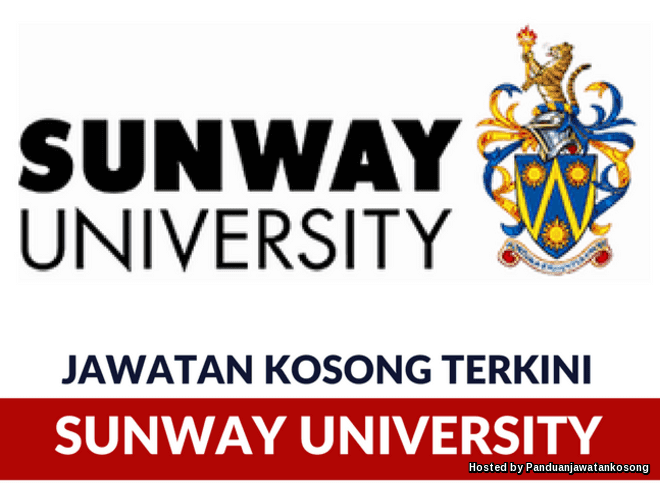 Iklan Jawatan Kosong Sunway University