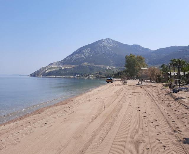 Έτοιμες να υποδεχθούν κόσμο οι παραλίες του Δήμου Επιδαύρου
