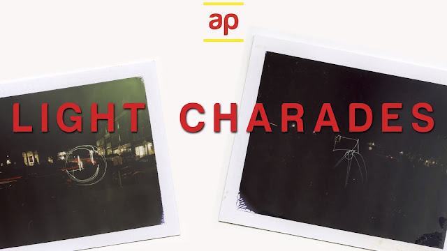 Light Charades With 4x5 Instant Film