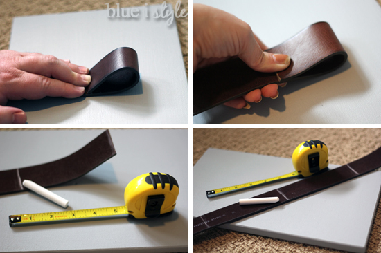 I Borrowed A Leather Punch From My Pas To Create Holes In The Hands Weren T Quite Strong Enough Through But Hubby Had