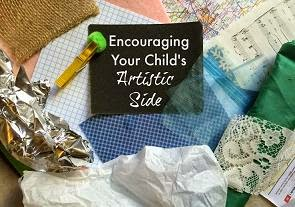Encouraging Your Child's Artistic Side banner