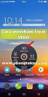 Cara merekam layar VIVO Y83