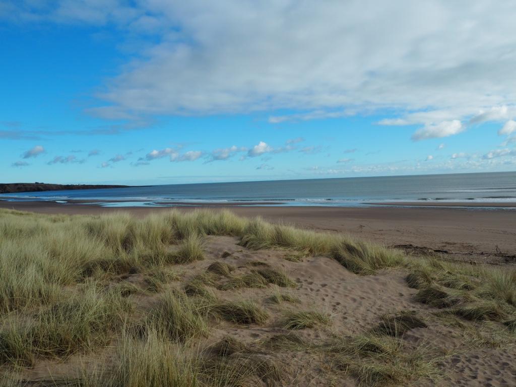 st cyrus beach scotland